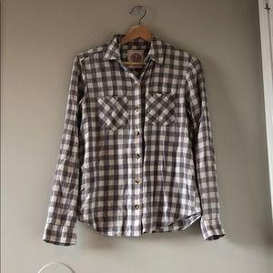 Grey Checkered/Plaid Flannel